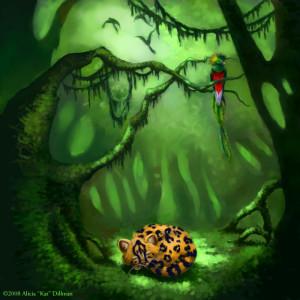 Stalking the Elusive Quetzal by Alicia Kat Dillman