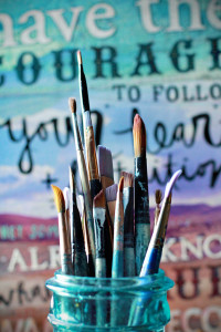 """Brushes"" by Mae Chevrette on Flickr"