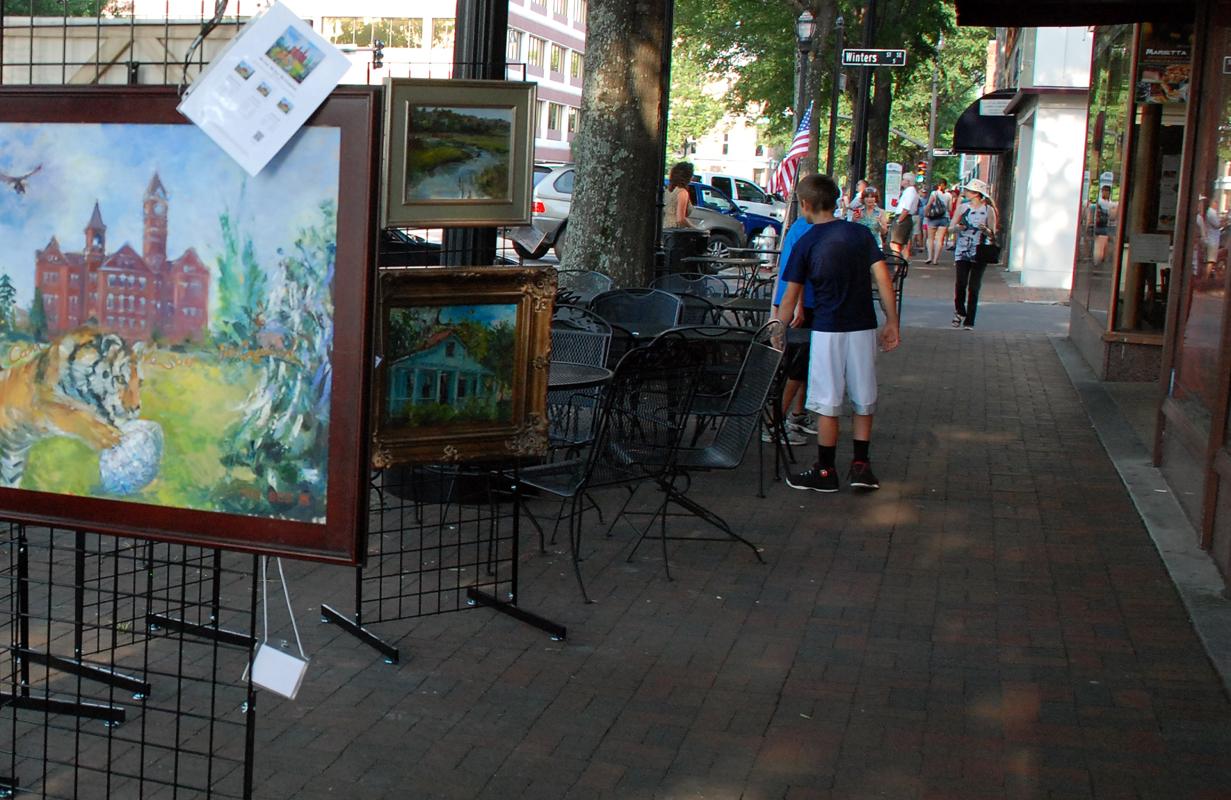 Selling Art Locally