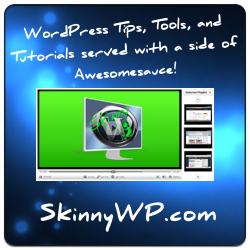 SkinnyWP -- WordPress Tips, Tools, and Tutorials served with a side of Awesomesauce!
