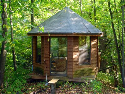 Neil Gaiman Writing Gazebo